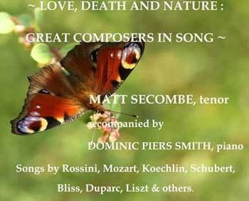 Love, Death & Nature: - Great Composers in Song